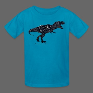 Detroitosaurus Rex - Kids' T-Shirt
