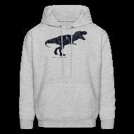 Hoodies ~ Men's Hoodie ~ Detroitosaurus Rex