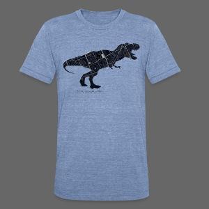 Detroitosaurus Rex - Unisex Tri-Blend T-Shirt