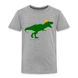 Cheeseheadosaurus Rex - Toddler Premium T-Shirt