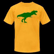 T-Shirts ~ Men's T-Shirt by American Apparel ~ Cheeseheadosaurus Rex