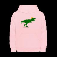 Sweatshirts ~ Kids' Hoodie ~ Cheeseheadosaurus Rex