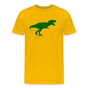 Cheeseheadosaurus Rex - Men's Premium T-Shirt