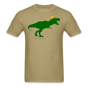 Cheeseheadosaurus Rex - Men's T-Shirt