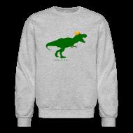 Long Sleeve Shirts ~ Crewneck Sweatshirt ~ Cheeseheadosaurus Rex