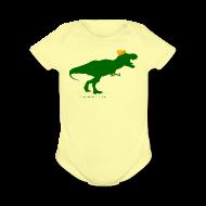 Baby Bodysuits ~ Baby Short Sleeve One Piece ~ Cheeseheadosaurus Rex