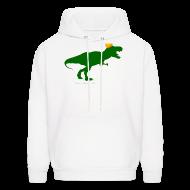 Hoodies ~ Men's Hoodie ~ Cheeseheadosaurus Rex