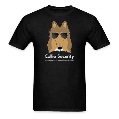 Collie Security - Men's tshirt - Men's T-Shirt