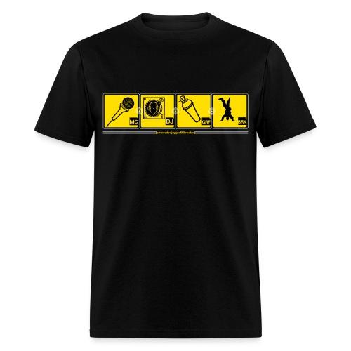 Hip Hop T-Shirt - Men's T-Shirt