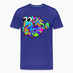 Colouful Pufferfish T-Shirts