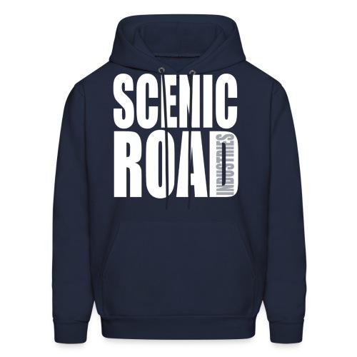 Scenic Road Transparency Hoodie - Men's Hoodie