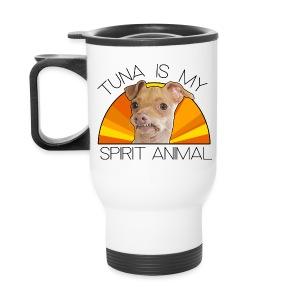Tuna is my Spirit Animal Travel Mug (orange) - Travel Mug