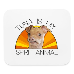 Tuna is my Spirit Animal Mouse Pad - Mouse pad Horizontal