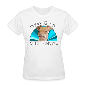 Tuna is my Spirit Animal Women's Tee (blue) - Women's T-Shirt