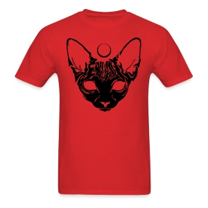 Luna Sphynx (black) - Men's T-Shirt