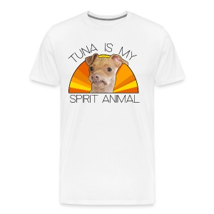 Tuna is my Spirit Animal Men's Premium Tee (orange) - Men's Premium T-Shirt