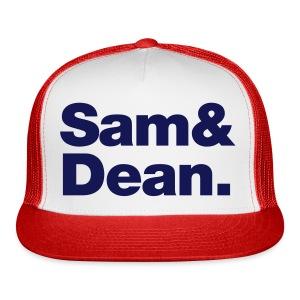 sam & dean - Trucker Cap