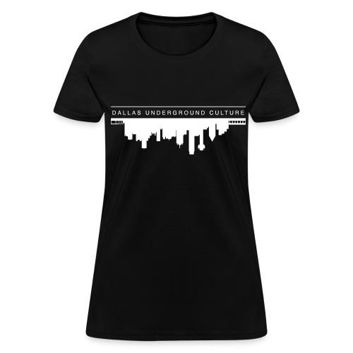 Women's Dallas Underground Culture Tee - Women's T-Shirt
