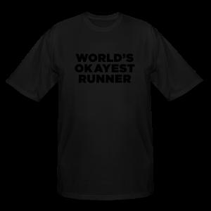 Humorous Running Quote - Men's Tall T-Shirt