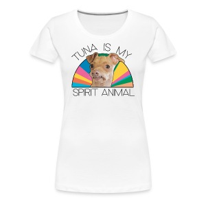 Tuna is my Spirit Animal Women's Premium Tee (multi) - Women's Premium T-Shirt