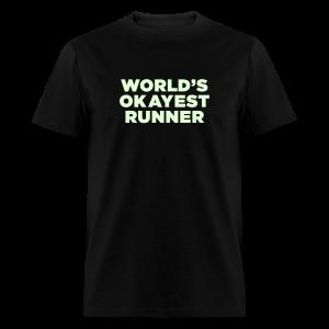 World's Okayest Runner - Men's T-Shirt