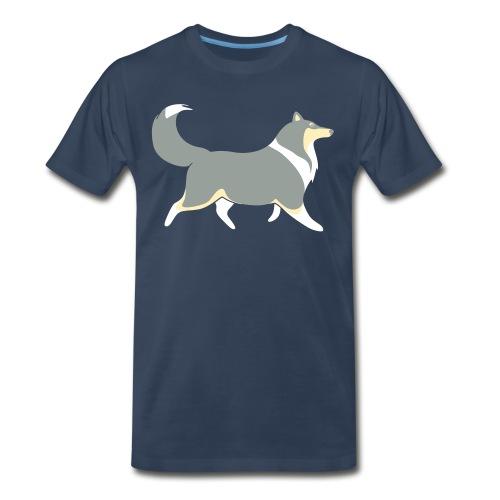 Merle Silhouette - Mens Big & tall T-shirt - Men's Premium T-Shirt