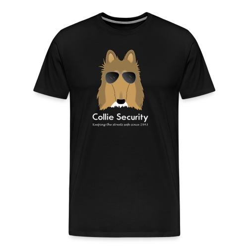 Collie Security - Men's big & tall tshirt - Men's Premium T-Shirt