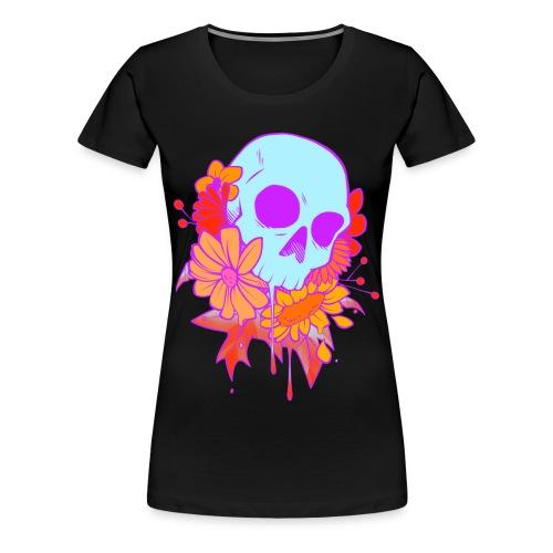 Skull Drop - Women's Premium T-Shirt