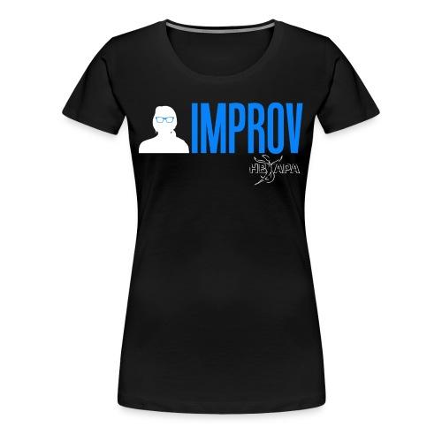 Female Logo - Blue - Women's Premium T-Shirt