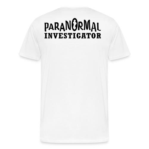Mens Paranormal Investigator Shirt - Men's Premium T-Shirt