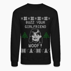 Buzz You Girlfriend WOOF Long Sleeve Shirts