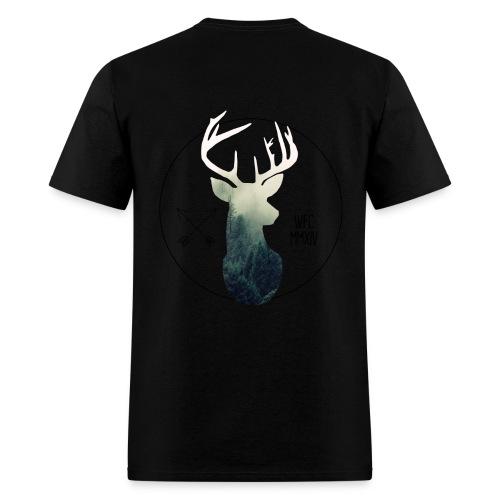 Forest Stag - Black - Men's T-Shirt