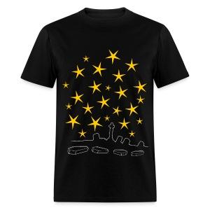 Coffins And Stars - Men's T-Shirt