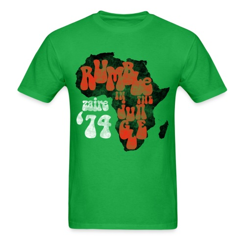 Zaire Boxing '74  - Men's T-Shirt