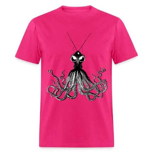 Steampunk Octopus Black - Men's T-Shirt