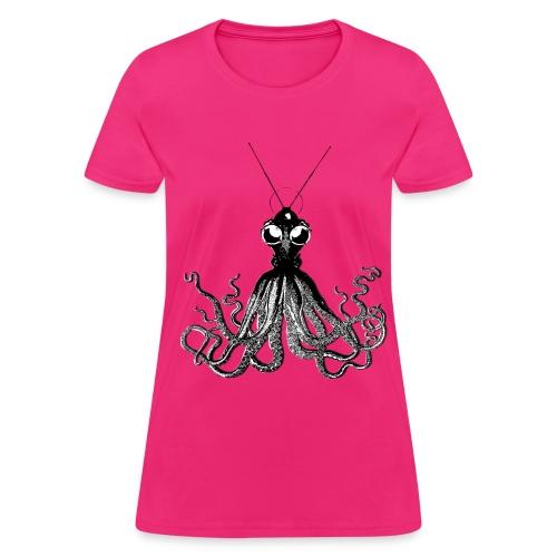 Steampunk Octopus - Women's T-Shirt