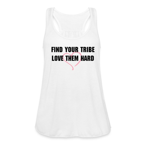 Tribe tank - Women's Flowy Tank Top by Bella