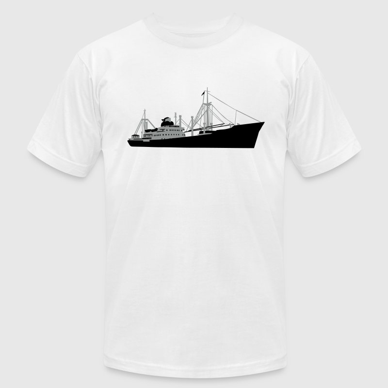 Freighter - Cargo Ship T-Shirts - Men's T-Shirt by American Apparel