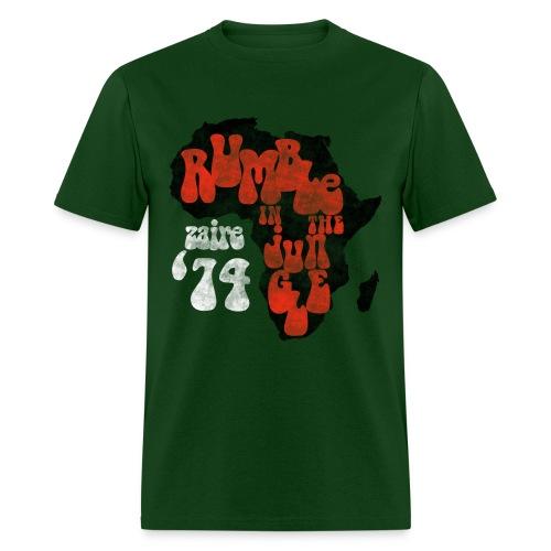 Zaire Boxing '74  - Men's T-Shirt