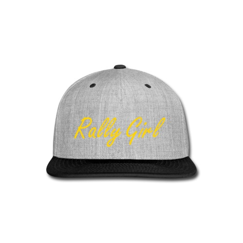 Rally Girl  - Snap-back Baseball Cap