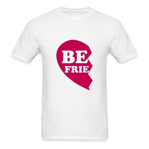 Best Friend half heart  - Men's T-Shirt