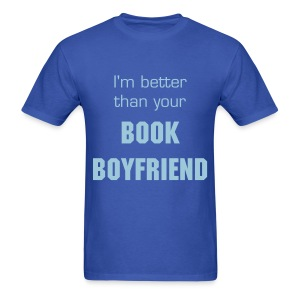 Book Boyfriend Shirt 2 - Men's T-Shirt
