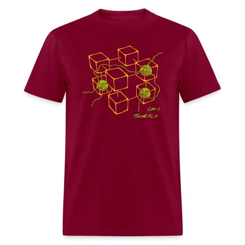 CM-1 men's wine gold/apple - Men's T-Shirt