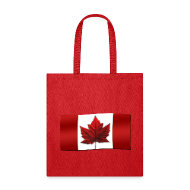 Bags & backpacks ~ Tote Bag ~ Canada Souvenir Bags Canada Flag Tote Bag