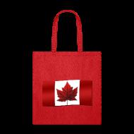 Bags & backpacks ~ Tote Bag ~ Canada Souvenir Bags Canada Flag Tote Bag