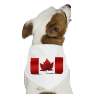 Other ~ Dog Bandana ~ Canada Pet Souvenir Canada Flag Dog Bandana