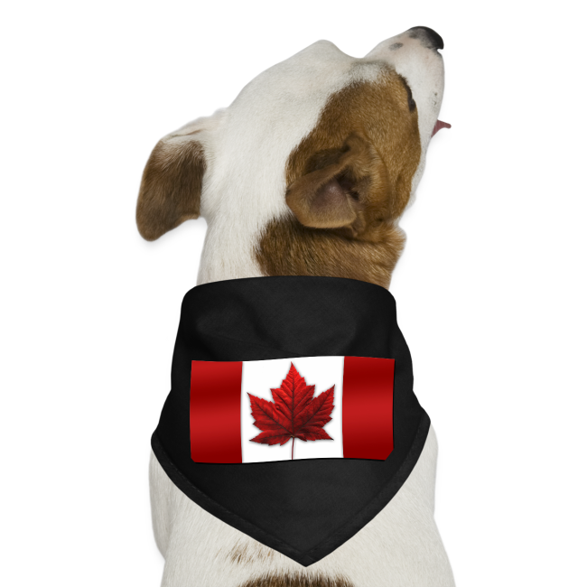 Canada Pet Souvenir Canada Flag Dog Bandana