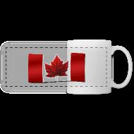 Mugs & Drinkware ~ Panoramic Mug ~ Canada Souvenir Cups Canada Flag Mug