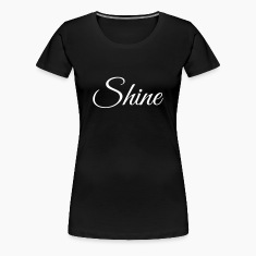 Shine - short sleeved white