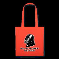 Bags & backpacks ~ Tote Bag ~ Darth Vader They See Me Sithin' - Tote Bag